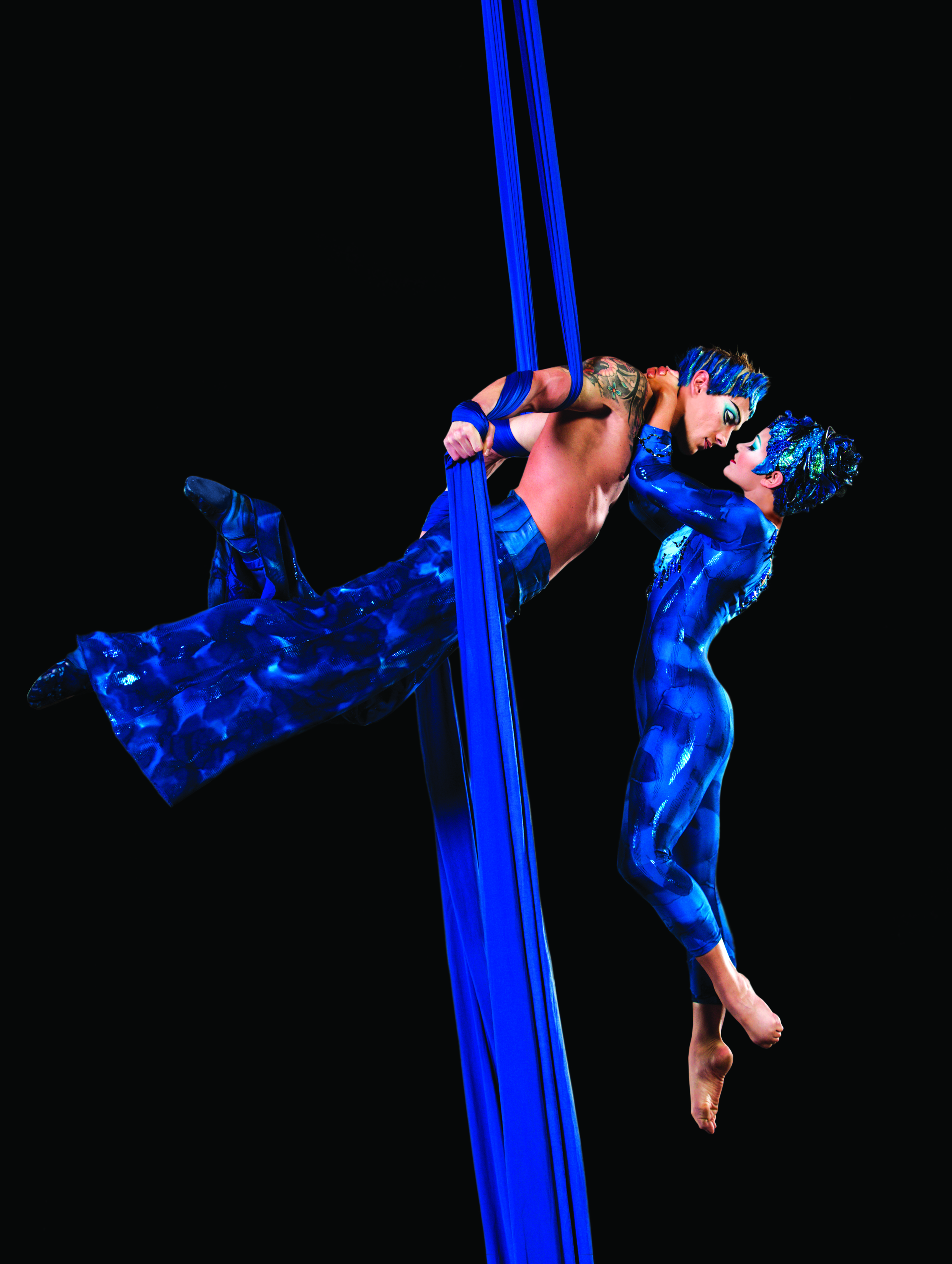 Aerial Silk Artist Aerial Silk Show