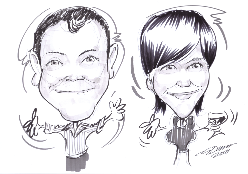 how to become a caricaturist